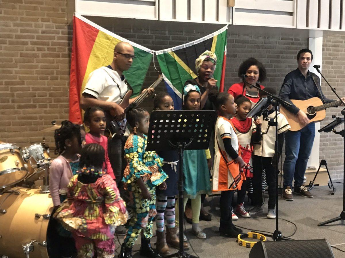 Samenkomst Afrikaanse groep